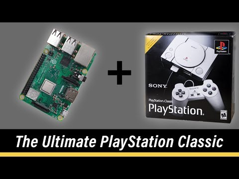 Installing a Raspberry Pi inside the PlayStation Classic