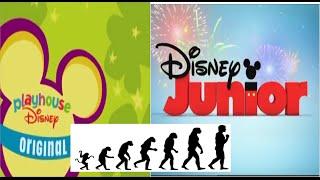 Logo Evolution: Playhouse Disney/Disney Junior (1997-present)