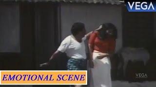 Paravoor Bharathan Beats His Wife || Mrugaya Movie Scenes