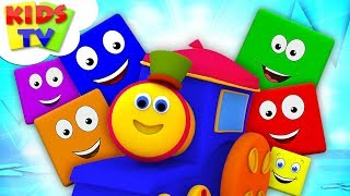 Learning Color   Bob The Train   Learning Videos For Children   Cartoons by Kids TV