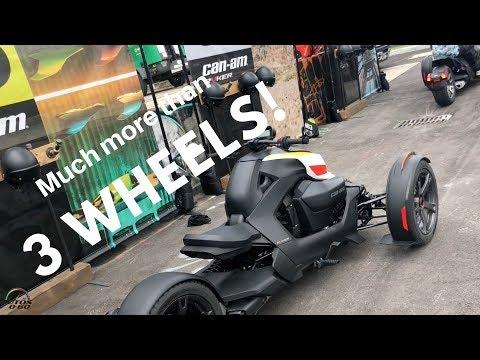 2019 Can Am Ryker Ride Show in Wynwood Miami Javier Mota
