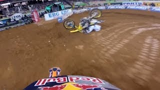 GoPro: Ken Roczen and Ryan Villopoto's Battle for First - 2014 Monster Energy Supercross Atlanta