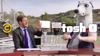 Tosh.0 - CeWEBrity Profile - High School Football Fan