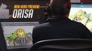 New Hero Preview: Orisa   Overwatch