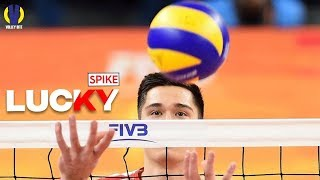 Top 10 Lucky Spike as EXPECTED of Players | Volleyball Actions