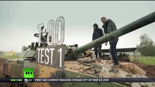 T-80 test-drive: Hitting the track on the Russian main battle tank