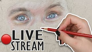 Drawing A HUMAN for the FIRST TIME! | Live Stream