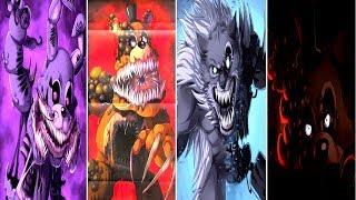 FNAF 6 TEASER & NEW TWISTED ANIMATRONICS!! | Five Nights at Freddy's Twisted Ones