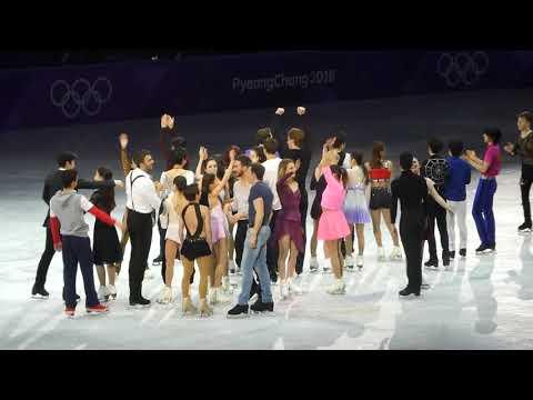 20180225 PyeongChang Olympic GALA yuzuruhanyu satokomiyahara