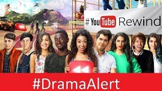 YouTube Rewind 2016 #DramaAlert PewDiePie - Jacksepticeye - Ricegum - Comedyshortsgamer - kwebbelkop