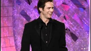 Jim Carrey Wins Best Actor Motion Picture Musical or Comedy - Golden Globes 2000