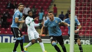 Nigeria U20 v Uruguay U20 Highlights | Insane Goals & Red Cards | HD |