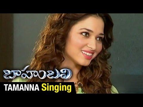 Xxx Mp4 Tamanna Sings Pacha Bottesina Song Baahubali Prabhas Rana Anushka SS Rajamouli 3gp Sex