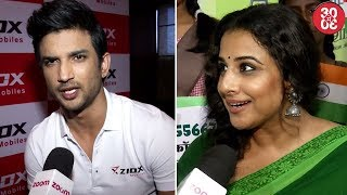 Sushant Wishes Zoom Viewers On Independence Day   Vidya Celebrates Independence Day