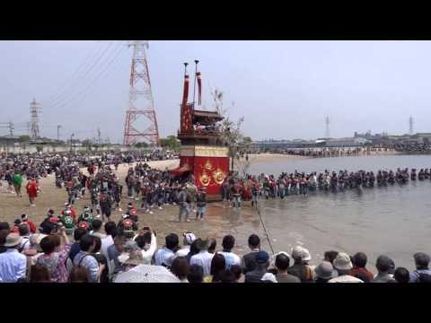 半田亀崎� �干祭り