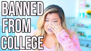 I WAS BANNED FROM COLLEGE!! Storytime