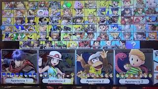 All Alternate Character Colors -   Super Smash Bros  Ultimate