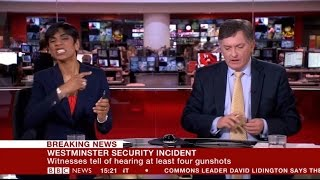 BBC News presenter annoyed by wrong VT