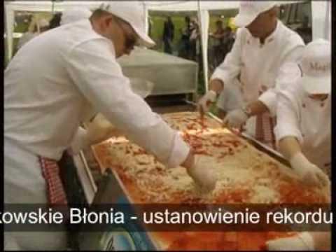 Restauracja Magillo rekord Guinnessa w kategorii największa pizza
