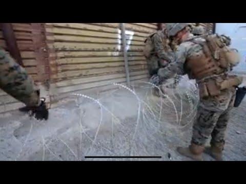 Xxx Mp4 Carabana De Honduras Llega A Tijuana Noticias De última Hora Soldados Americanos Reforzan Muro 3gp Sex