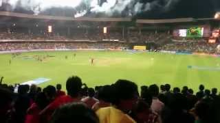 IPL 2014 Finals - KKR vs KXIP - Final Ball - Fan v