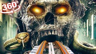 360 VIDEO VR Roller Coaster 4K 360 VR The Mummy Movie