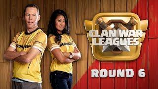 Clash of Clans Live | Clankriegs Liga Runde 6 | Rathaus 12 Aktion | coc deutsch