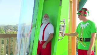 Where does Santa Claus Practice Chimney Sliding? | SeaWorld Orlando