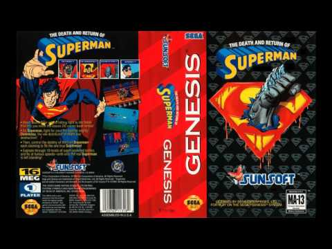 [SEGA Genesis Music] The Death and Return of Superman - Full Original Soundtrack OST