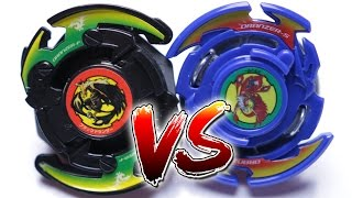 BEYBLADE BATTLE | DRANZER S (BURST) VS BLACK DRANZER F (PLASTIC) - Battle of Generations