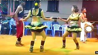 kutti  chitra is singing the song &Danching   karakattam Video Tamil NaduDec 2017 HD 1080p