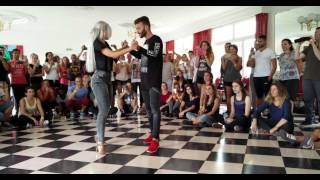 Normandie SBK Festival 2016. Reda Becili and Sara López