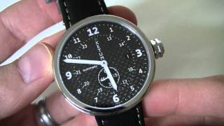 Watch Review:  Xetum Tyndall Limited Edition Watch