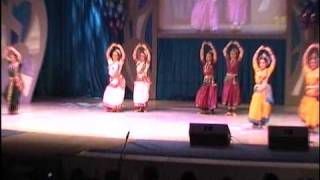 Dance No.5(Group-Anugama,St.Petersburg) Holi Mela & 4 th All Russia Indian Dance Competition 2010