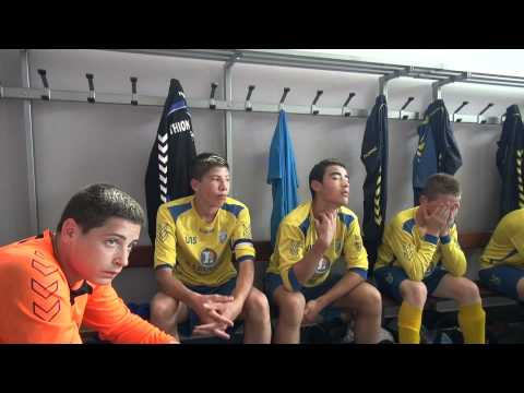 03 FC THIONVILLE U15 DH FC METZ U15 vestiaire MI TEMPS coach DORIAN LIEBERT