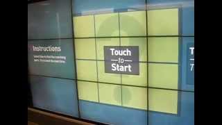 Interactive Touch-Screen Game Billboard at LAX