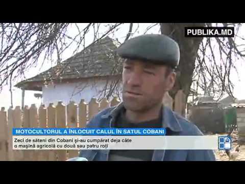 A înlocuit căruţa şi tractorul Vehiculul minune utilizat tot mai des de fermierii din Moldova