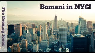 Bomani in NYC!
