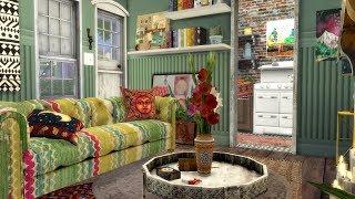 The Sims 4: Speed Build // BOHO HOUSE + CC LINKS