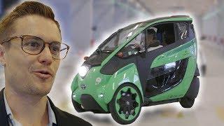 We Drove A Three-Wheel Car