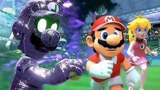 How Luigi Fell For The Legendary Racket Dark Trap - Mario Tennis Aces Part 1 / World 1