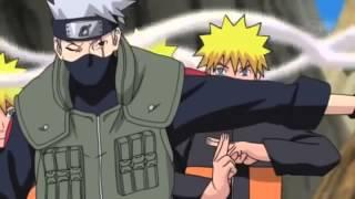 Naruto sakura & kakashi vs  Sasuke full fight    English Dub