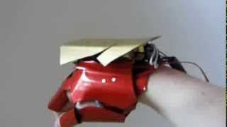 Diseñan guante de 'Iron Man' que dispara láser real