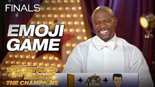 Play The Emoji Game! AGT: The Champions Version - America
