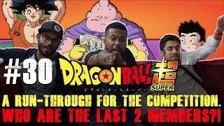 Dragon Ball Super ENGLISH DUB - Episode 30 - Group Reaction + Discussion +MIKEY UNBOXING