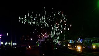 Beautiful Street Lighting Decoration | dji osmo plus | Pologround to Tigerpass, Chittagong