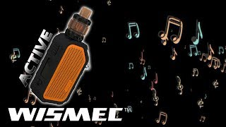 Rip Urechile | Wismec ACTIVE | Tigara electronica cu BOXA BLUETOOTH