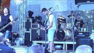 08 Holka v kůži live Lužany motosraz 2014 FÉNIX