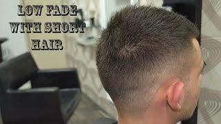 Low Fade With Short Hair - Men's Haircut