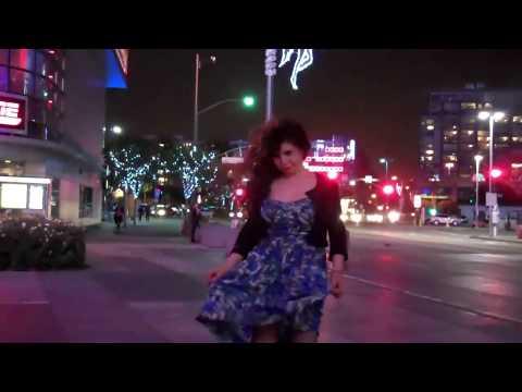 Dress flys above waist.